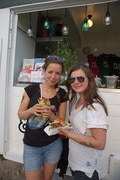Stamppot in een hoorntje èn onze overheerlijke TexMexburger tijdens festival de Beschaving op 30 juni 2012. Recept is te vinden op onze site.