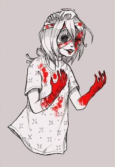[Day Surreal gore by DrawKill on DeviantArt Creepy Drawings, Creepy Art, Arte Horror, Horror Art, Candy Gore, Ero Guro, Goth Art, Dark Anime, Manga