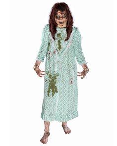 Women's Exorcist Regan Costume w/ Wig