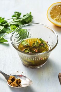 Use your leftover herbs to make homemade chimichurri. It's super easy and delicisiou. More recipes on blog.hellofresh.com