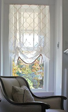 Sheer Relaxed Roman Shade by donna-morgan-living