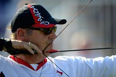 Norbert Murphy wins the Bronze Medal in Men's Individual Compound - Archery at the London 2012 Paralympics Archery, Congratulations, Athlete, Canada, Bronze, Colours, London, Celebrities, Women