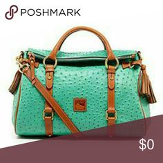 ISO: Seafoam dooney and bourke satchel I am lookin for this bag. Seafoam just like one pictured. Do not buy please just share!! Desperately looking for this bag!! Dooney & Bourke Bags Satchels