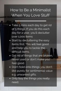 """How to be more minimalist when we like things, """"story_pin_data_id"""": null, . - Minimalism - FREE, CHEAP AND EASY Tips for Living a Minimalist Lifestyle ! The Simple Life, Vie Simple, Simple Living, Minimalism Challenge, Minimalism Living, Minimalist Bullet Journal, Declutter Your Life, Minimalist Lifestyle, When You Love"""