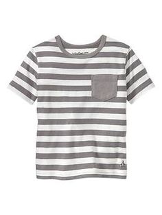 Striped pocket T | Gap