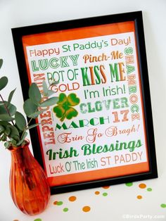 So many FREE printables and cute ideas for Saint Patrick's Day!! Love these!!