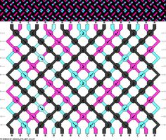 18 strings 12 rows 4 colors