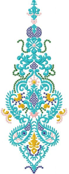 Decoration free embroidery design 12