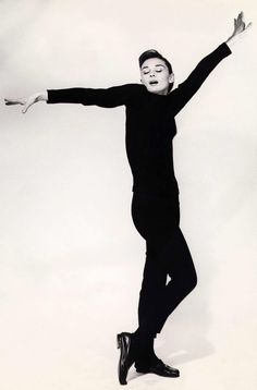 Audrey...jazzing it up in Funny Face