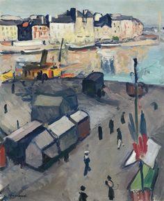 Albert Marquet - Port du Havre (1907)