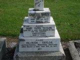 Gravestone of the Taylor family of Kirktonhill, Banchory, Kincardineshire.
