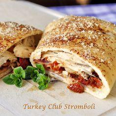 Turkey Club Stromboli