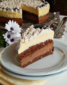 Torte, rolati i kremasti kolači Torte Recepti, Kolaci I Torte, Croation Recipes, Torte Cake, Food Obsession, Special Recipes, Sweet And Salty, Desert Recipes, Cake Cookies