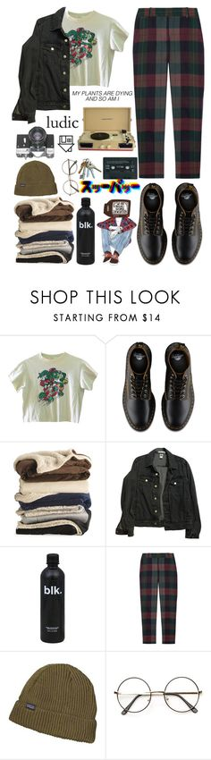 """""""merry christmas i guess"""" by baby-boba-tea ❤ liked on Polyvore featuring American Apparel, Theory, Patagonia, Crosley and Columbia"""