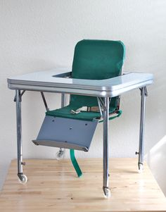 formica baby high chair?  sweet!