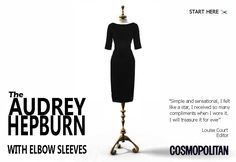 Custom-made dresses, one day I will find the money and go for the Audrey.