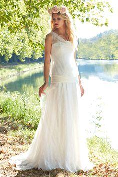 Laure de Sagazan, les robes de mariées esprit vintage romantique ...