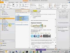 Microsoft Outlook Tutorials (playlist)
