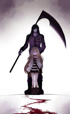 Satsuriku no tenshi Angel Of Death, Chica Anime Manga, Kawaii Anime, Konosuba Wallpaper, Satsuriku No Tenshi, Animes Yandere, Anime Angel, Dark Anime, Anime Shows