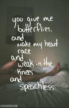 After 10 years my husband still takes my breath away when he kisses me. And my knees go all jellied.