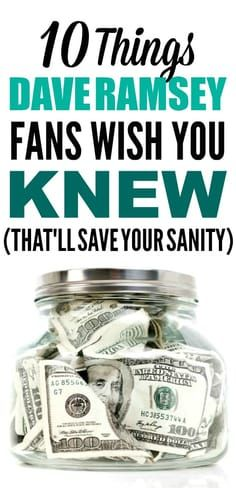 These personal finance tips are the best! I love Dave Ramsey! I'm so happy I found these GREAT money saving tips and ideas! Now I have some great money tips! #daveramsey #debtsnowball #moneysavingideas #moneysavingtips #moneytips #moneyhacks #lifehacks #budgeting #personalfinances