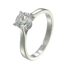 simple yet elegant diamond Engagement ring