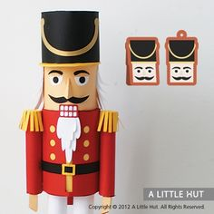 Nutcracker gift set: Not sure what the items on the side are, but they would make cute cards