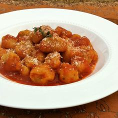 Butternut Squash Gnocchi- Pureed butternut squash with nutmeg, cinnamon and smoked paprika are the featured flavor in these gnocchi which are fairly simple to make! @tspbasil