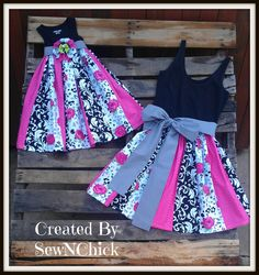 Mommy & Me Matching Outfits by SewNChick on Etsy, $65.00