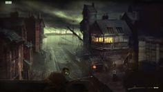ArtStation - ambush at the dock, Jonas Kunert