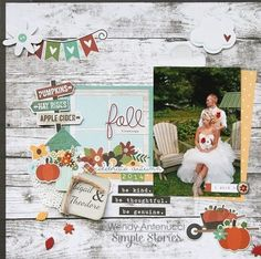 Simple Stories - Pumpkin Spice Collection - 12 x 12 Collection Kit