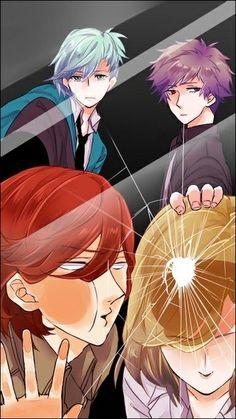 Uta no Prince-sama - Ai, Ranmaru, Reiji and Camus - Glass Hot Anime Boy, I Love Anime, Anime Guys, Manga Anime, Anime Art, Otaku Anime, Anime Behind Glass, Anime Lock Screen, Anime Traps