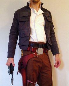 Han Solo Empire Strikes Back Costume Jacket by CorellianDryGoods