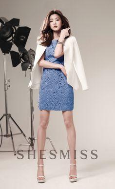 nice 'You Who Came From the Stars' Jun Ji Hyun is beautiful in catalog photos for 'Nepa' and 'SHESMISS' Li Bingbing, Korean Beauty, Asian Beauty, Asian Woman, Asian Girl, My Sassy Girl, Asian Celebrities, Korean Actresses, Asian Fashion