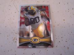 2012 Topps Chrome #93 JEREL WORTHY RC Rookie Card Green Bay Packers Spartans NFL   eBay