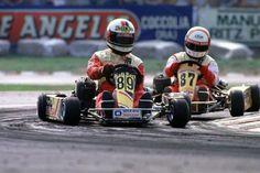 Alex Zanardi & Gianpietro Simoni Jesolo 1987