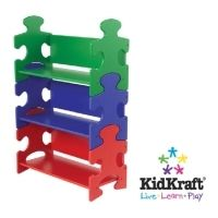 Childrens Puzzle Bookshelf By KidKraft 14400 - Wooden Toys Direct