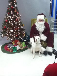 George and Santa - Vancouver