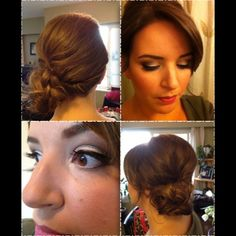 New Years Hair and MakeUp by Aura