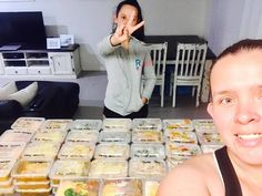 Beth made a WHOLE BUNCH of meals and snacks (349 to be exact) to help her get ahead, save time and keep to her healthy eating plan.
