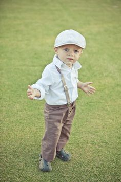 Ring bearer outfit- LOVE this!