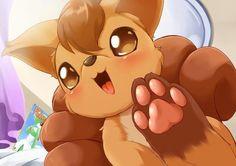 Vulpix, you cutiepie! (● ^ - ^ ● )