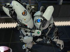 Portal 2: Atlas and P-Body <3