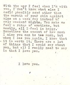 This is the most accurate quote of how I feel about you, and us, and this love, Bee. <3