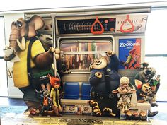 Grab your seat to the urban jungle.Find the brand new Zootopia standee in theatres now and post your photo using #Zootopia! by disneyanimation
