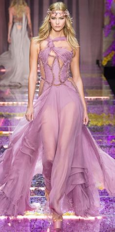 The Most Breathtaking Gowns from Fall 2015 Couture Fashion Week - Atelier Versace from #InStyle
