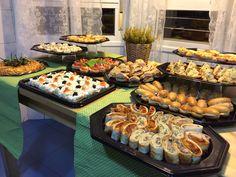 Mini buffet merienda invernal