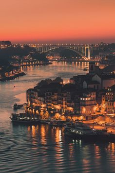Turn on the lights ~  Portugal, Porto City