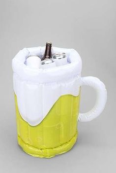 The Inflatable Beer Bucket is the Perfect Item for Any Party #drinking