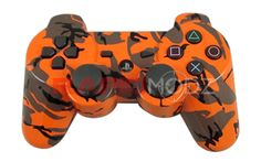 """This is our """"Orange Camouflage"""" 10 Mode Stealth Trigger Rapid Fire Controller. This is the last controller you will ever need. Remember you can now use the trigger rapid fire. There are no added buttons to it and it looks like a normal stock controller. Modes 4 is adjustable rapid fire meaning you can adjust any speed from 1 shots per second to 99, depending on specific game restrictions. All RapidModz.com controllers are 100% undetectable in all Games."""